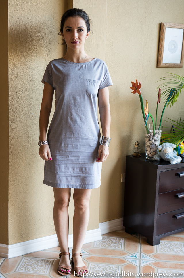 Sewing Tidbits - Chambray Tunic-1