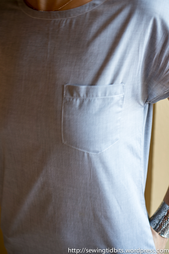 Sewing Tidbits - Chambray Tunic-4