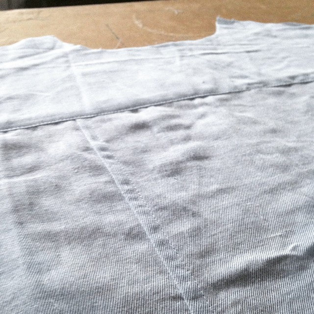 SewingTidbits Shirtmaking - Flatfelled seams
