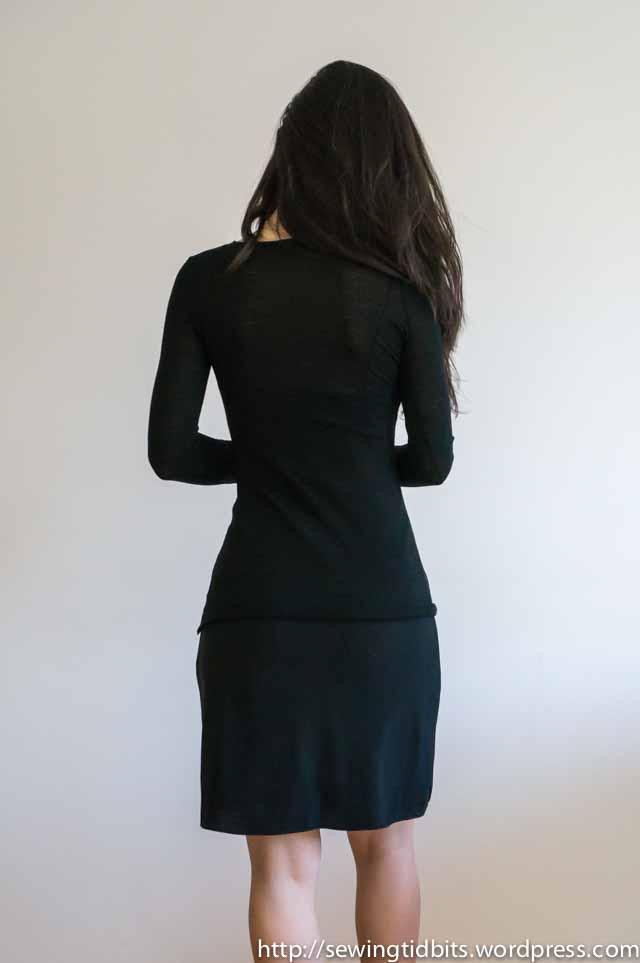 SewingTidbits-Black Slip dress-6