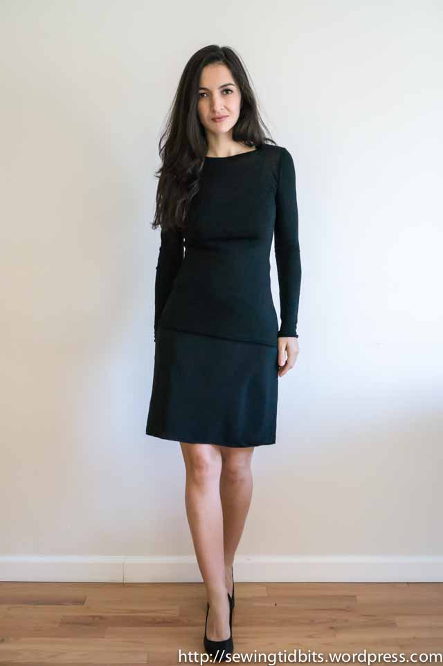SewingTidbits-Black Slip dress-7