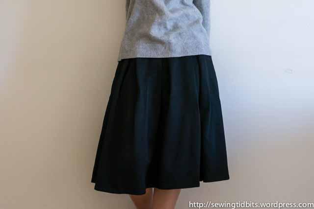 SewingTidbits-Pleated Skirt-3
