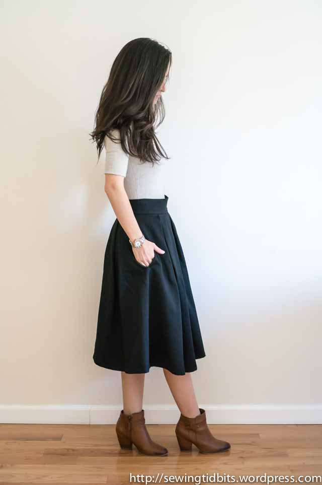 SewingTidbits-Pleated Skirt-5