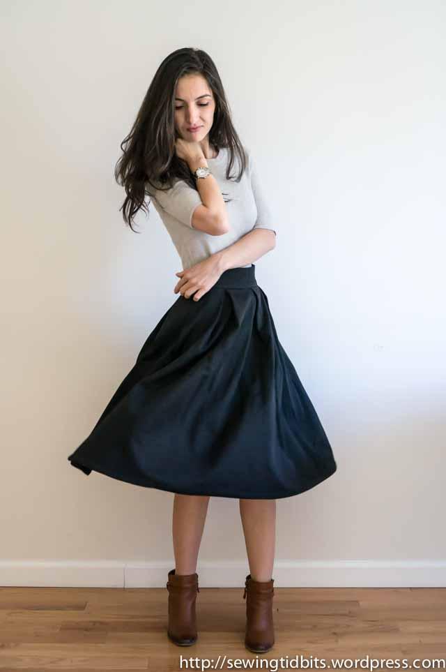 SewingTidbits-Pleated Skirt-6