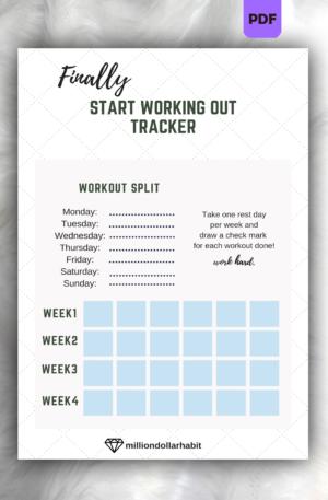 Beginner Workout Tracker