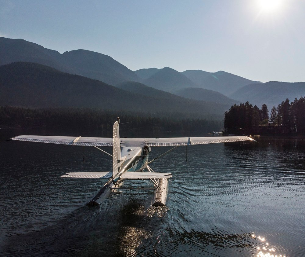 CHARTERS - Departing our Bigfork and Whitefish bases, we fly to many areas from Flathead Lake to Seeley Lake, Koocanusa, the Thompson and Stillwater Chains and many others across NW Montana.Please give us a call to get a quote to the best start of your vacation yet!!