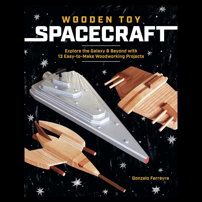 Wooden Toy Spacecraft Cedar Lane Press