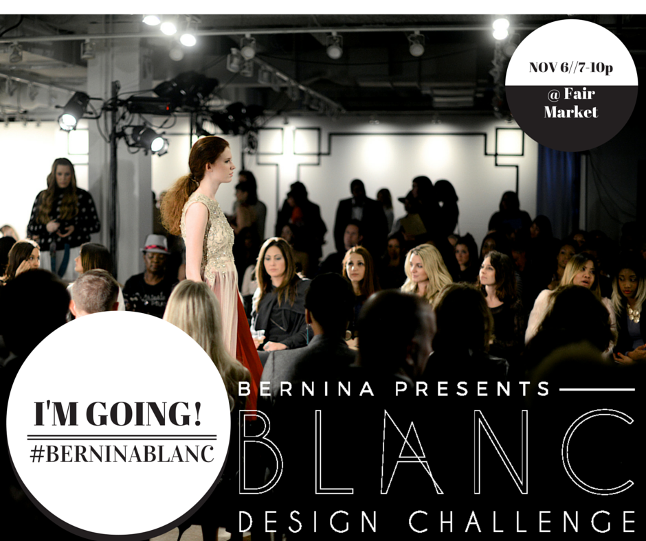 I'm going to Fashion X Austin: BLANC! Are you going, too?