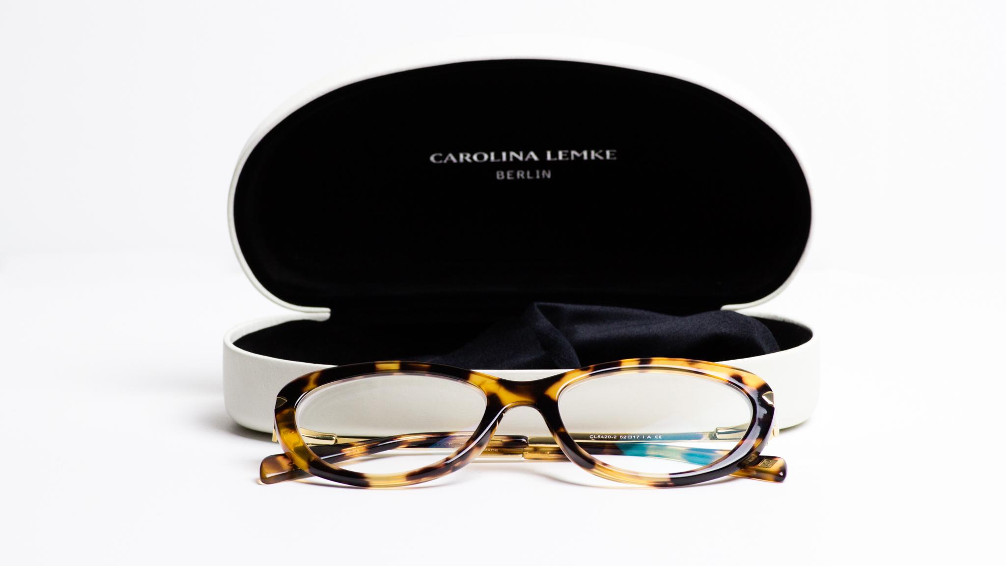 Ginger Me Glam Ottica Sponsored Review Carolina Lemke Glasses