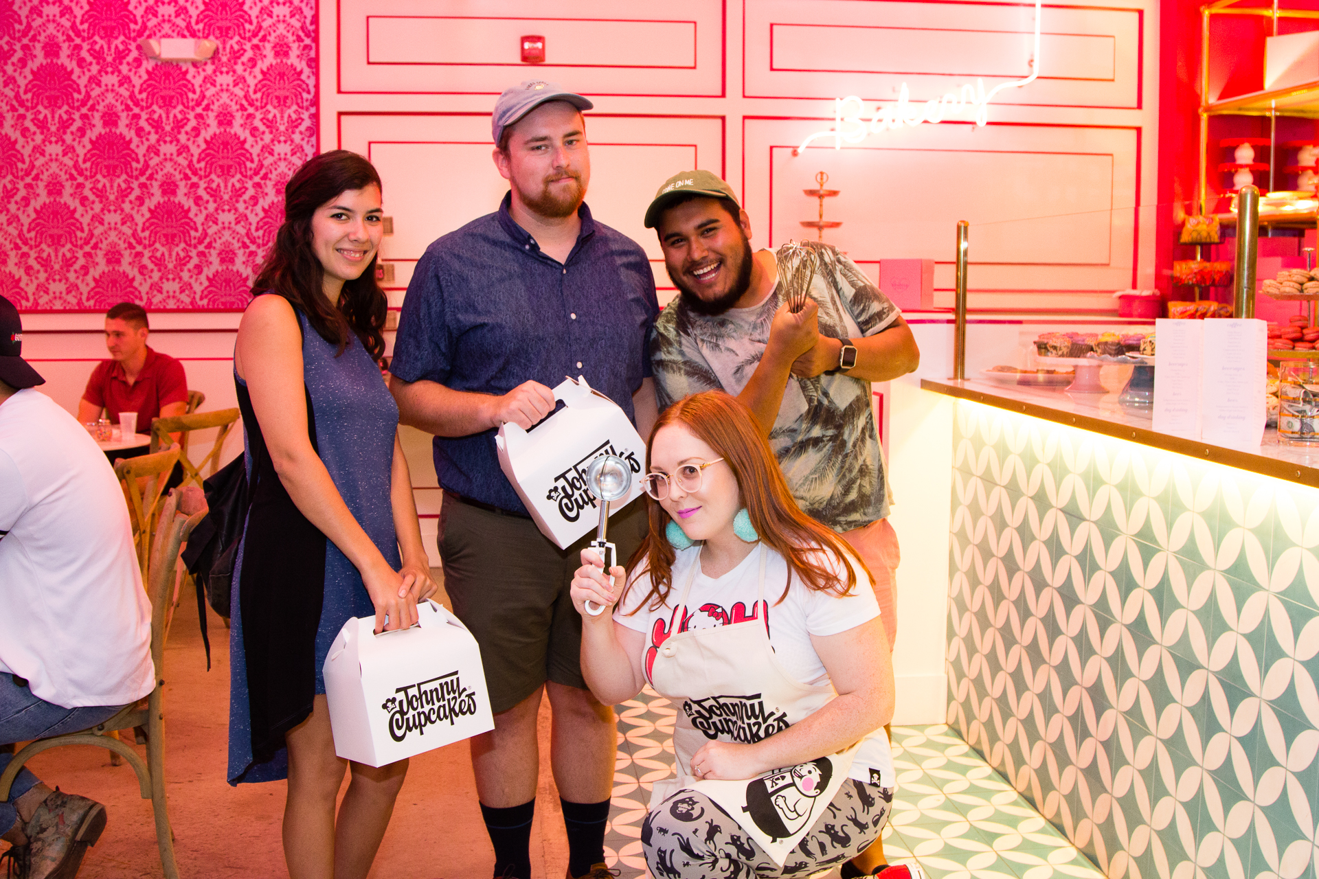 Johnny Cupcakes Pop Up Shop with Ginger Me Glam at Bribery Bakery Austin Texas-19