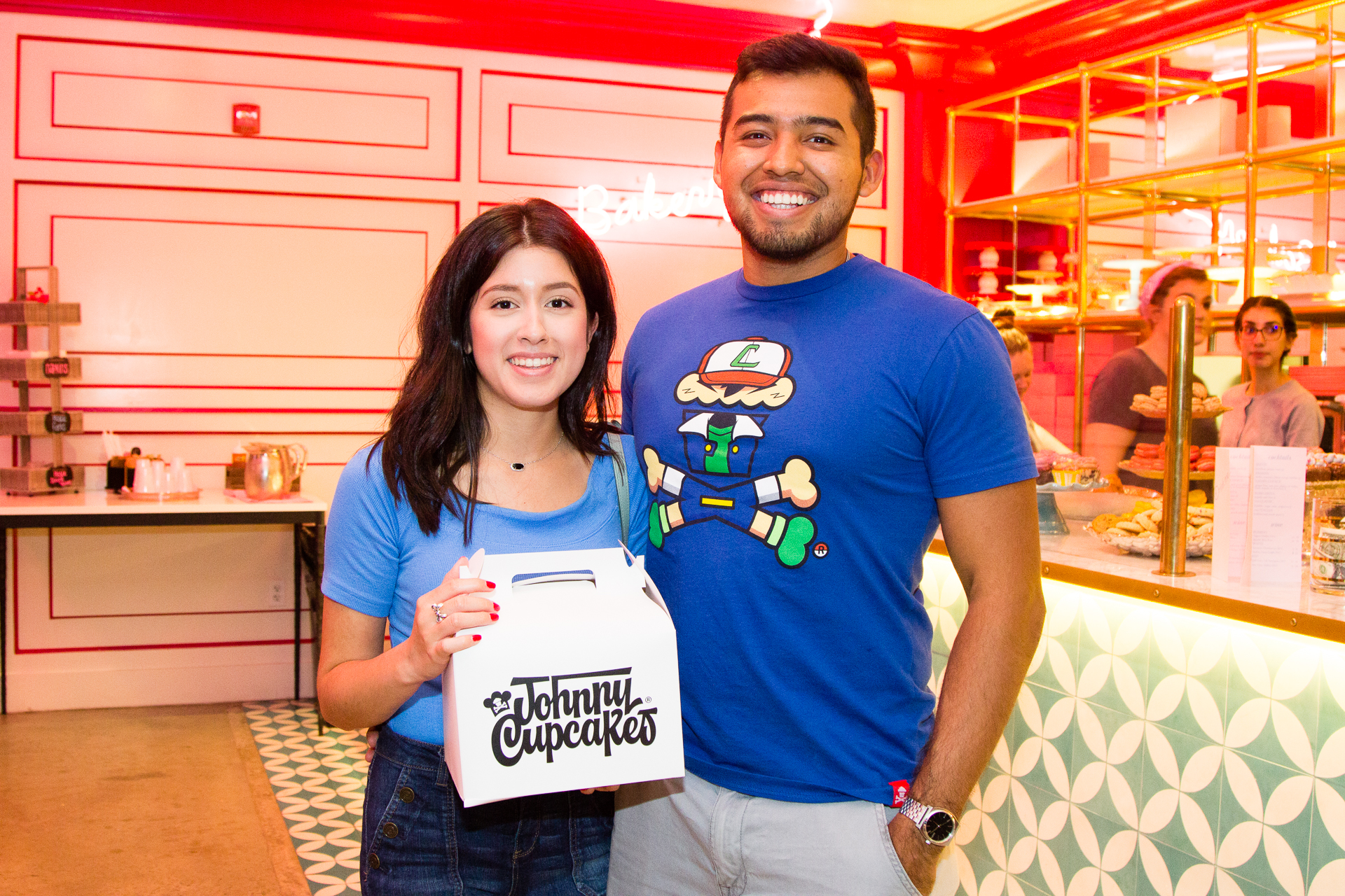 Johnny Cupcakes Pop Up Shop with Ginger Me Glam at Bribery Bakery Austin Texas-20