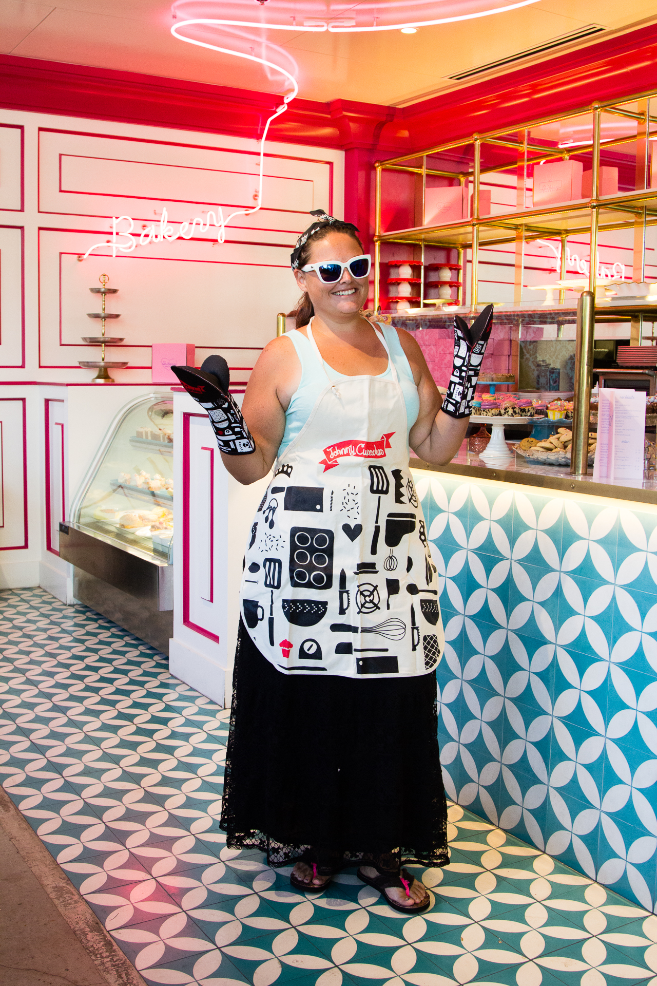 Johnny Cupcakes Pop Up Shop with Ginger Me Glam at Bribery Bakery Austin Texas-7
