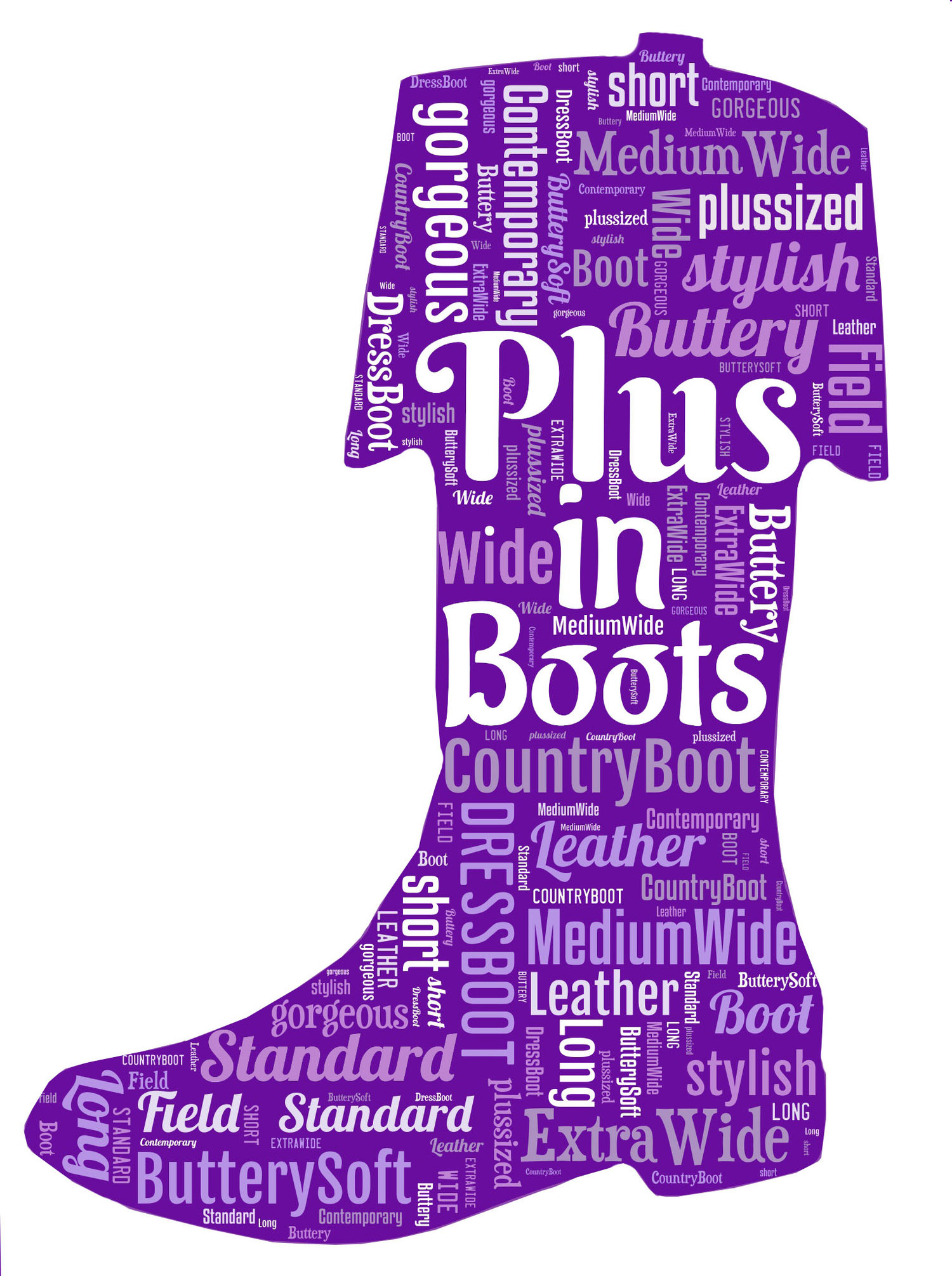 Plus In Boots