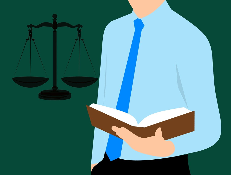 Source: https://pixabay.com/illustrations/lawyer-guide-book-justice-legal-3268430/