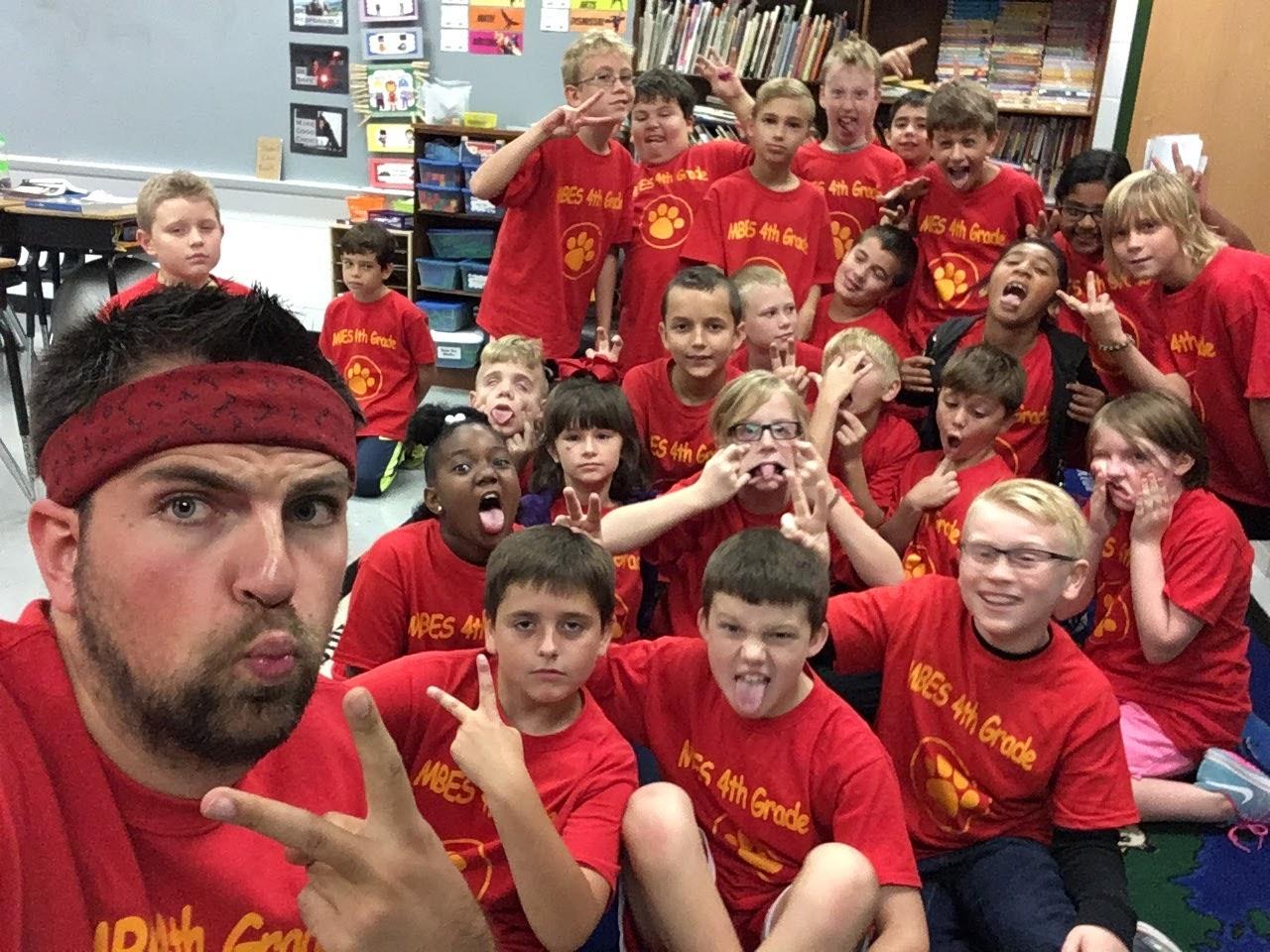 Field Day class selfie