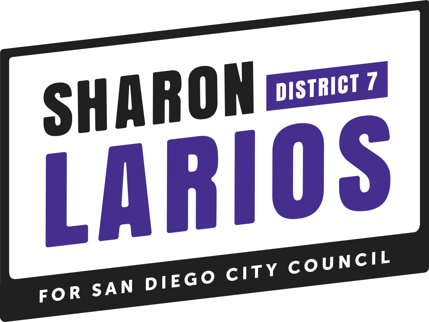 Sharon Larios for San Diego City Council District 7 2020