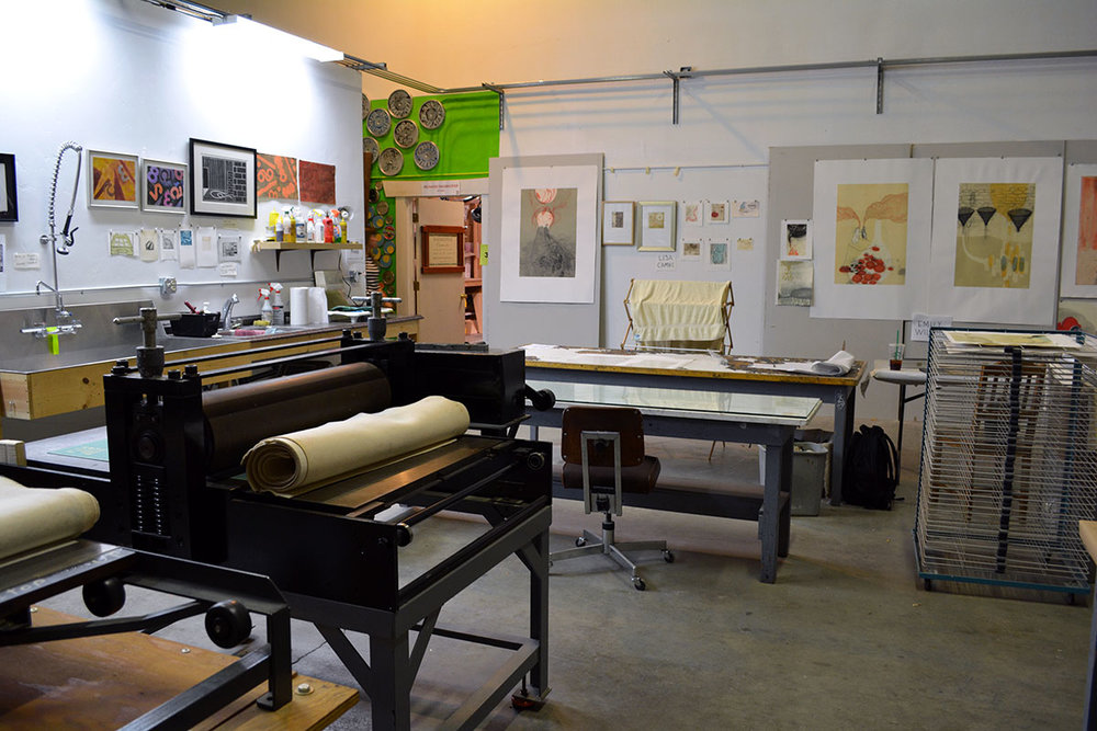 start printing - Ready to start putting ink on paper? From hourly studio time to workshops to memberships, we're here for you!