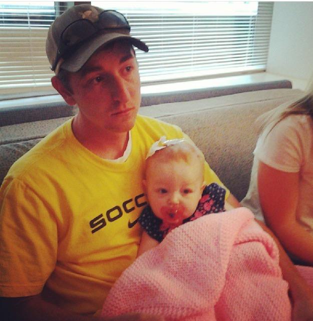 Jordan and Claire at Roanoke Carilion 7/13/13