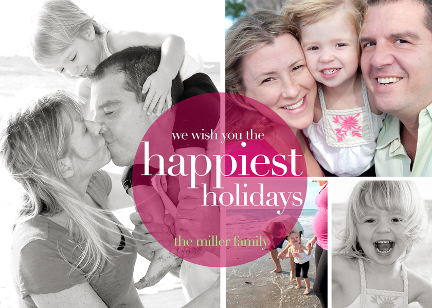 Christmas and holiday photo cards - custom downloads