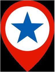 US Location Pin