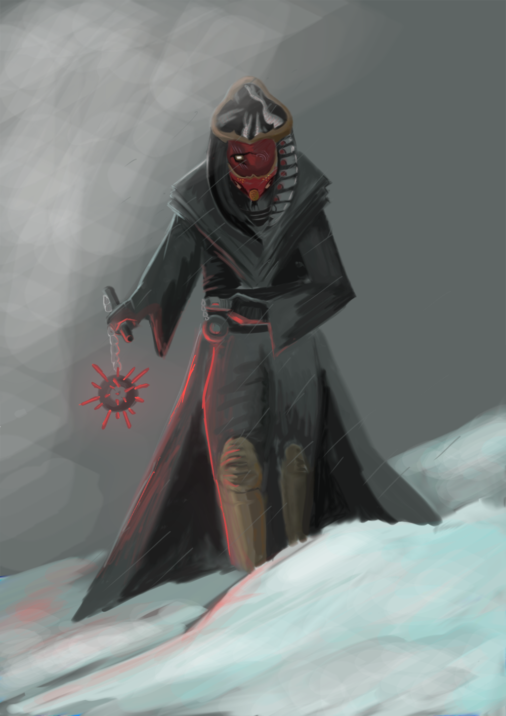 Star Wars sith lord character concept