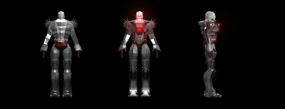 Robot concept for game model