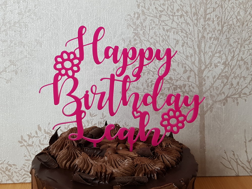 Cake Toppers - Birthday