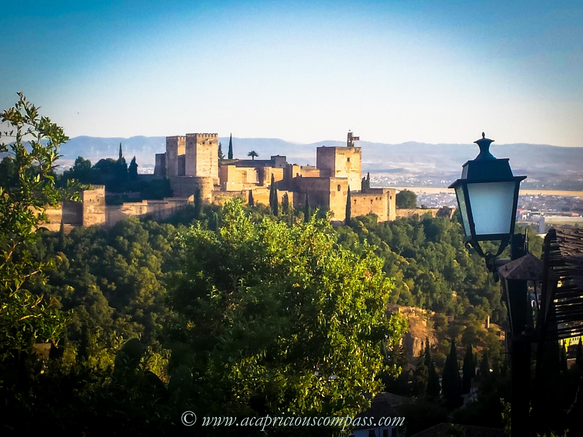 1 week itinerary andalusia spain granada seville perfect