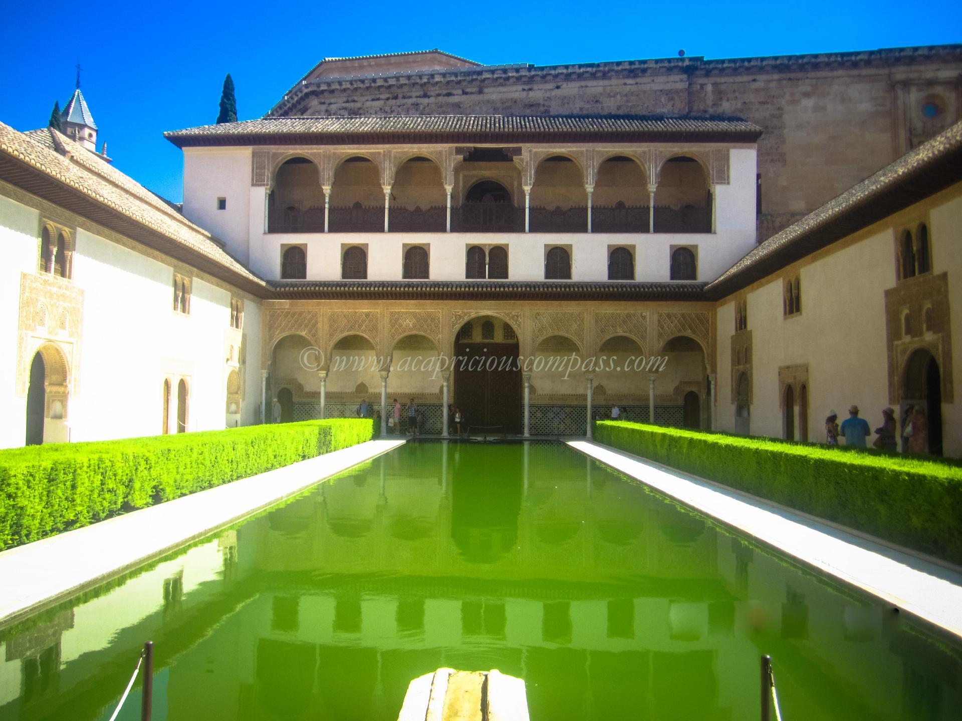 alhambra granada tickets architecture information generalife spain