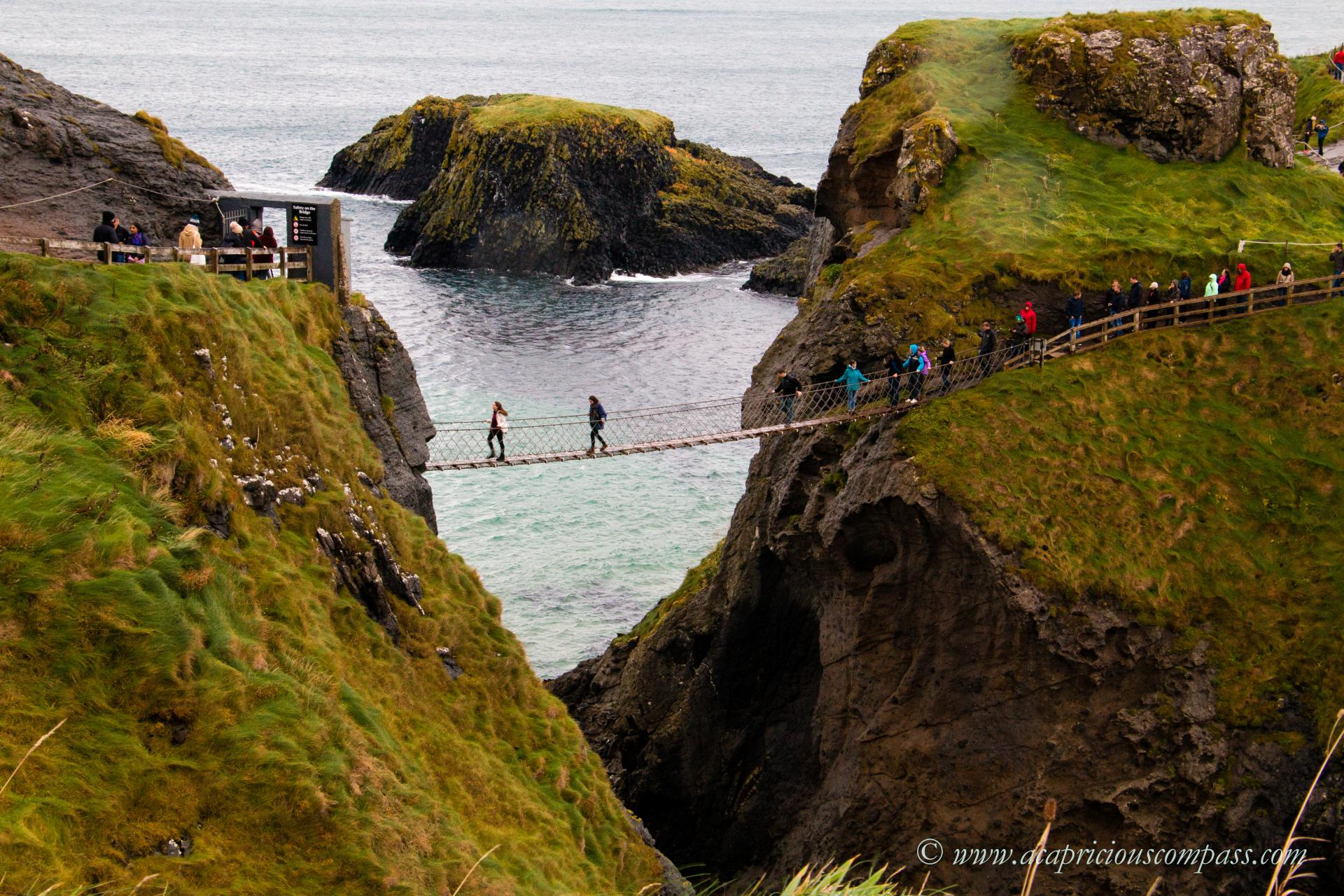 5 day itinerary causeway coastal route carrick a rede