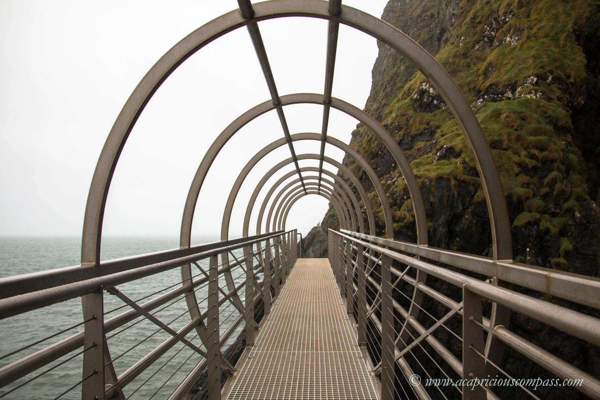 The Gobbins 5 day itinerary causeway coastal route