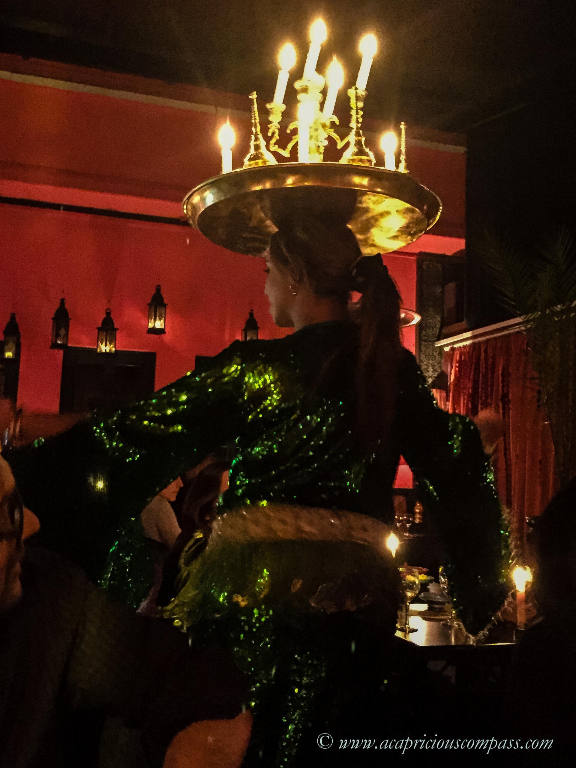 top things to do in Marrakech comptoir darna belly dance