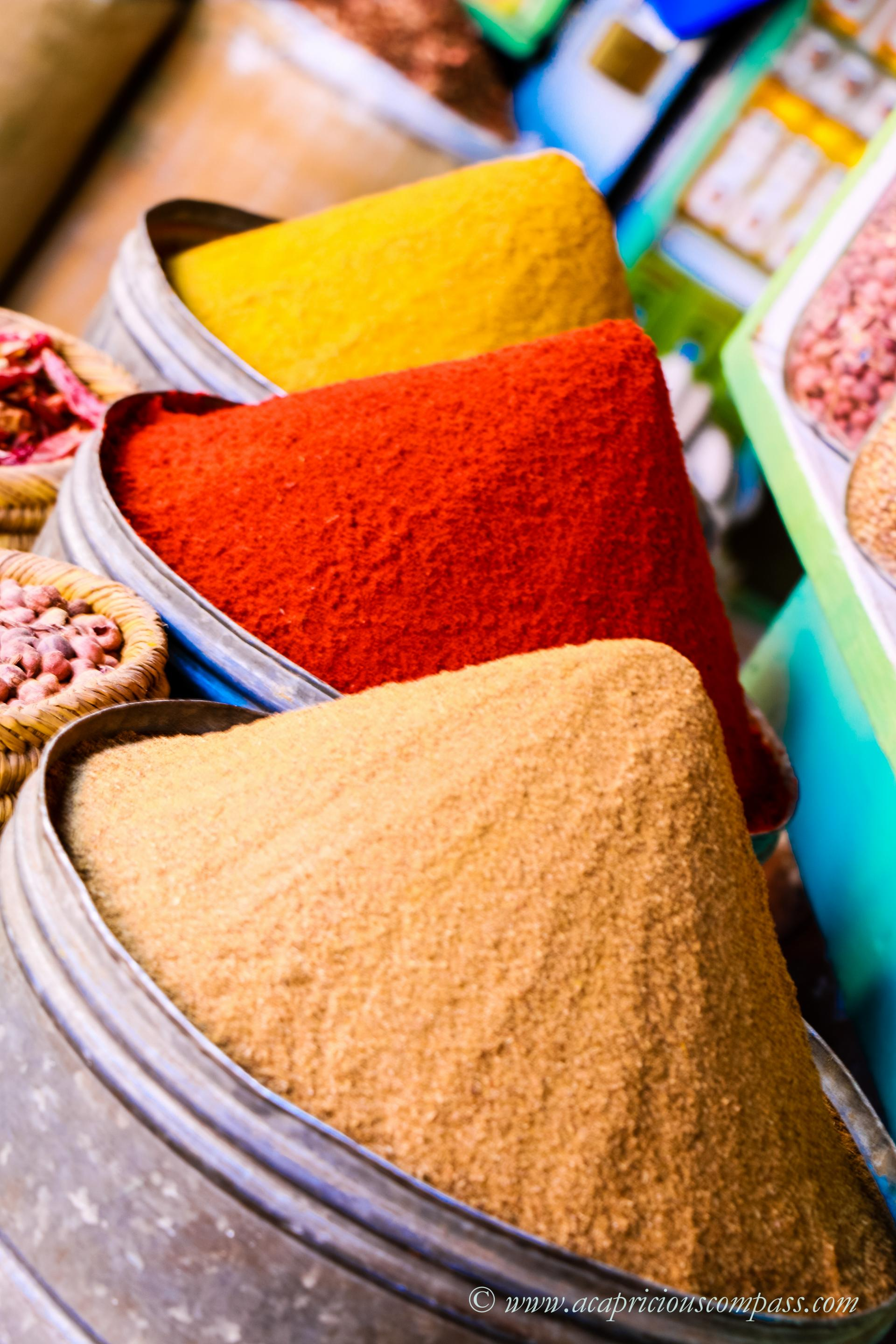 top things to do in Marrakech spice souks