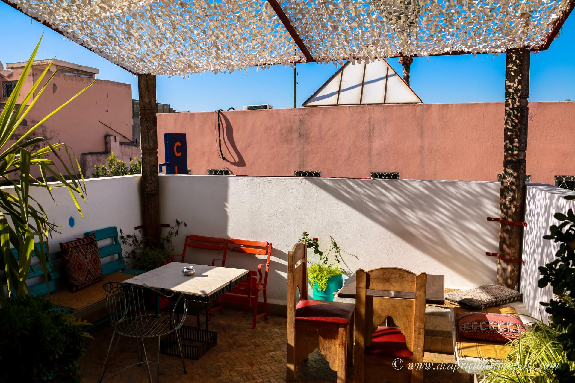 top things to do in Marrakech cafe clock
