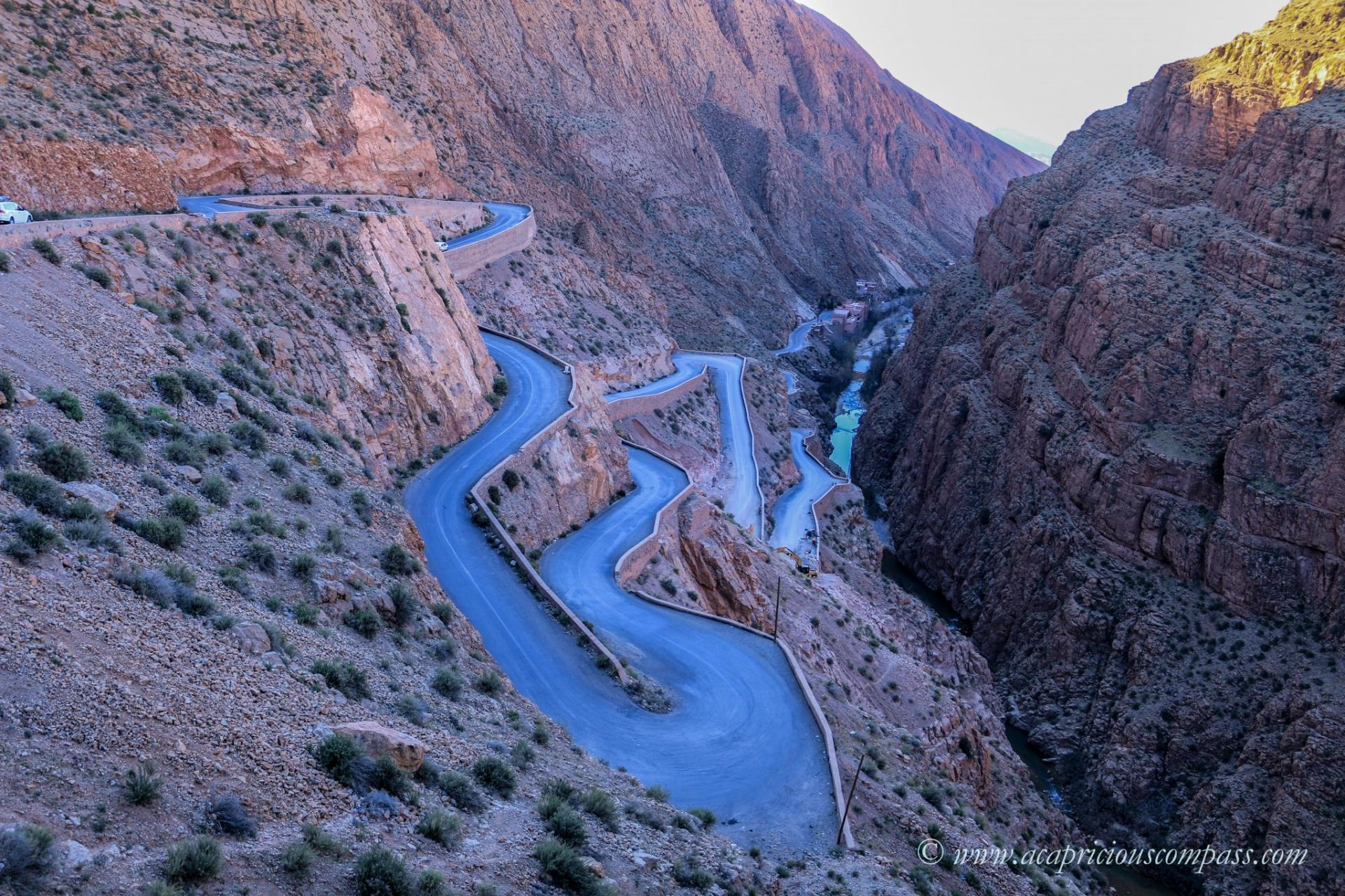 morocco road trip Dades valley