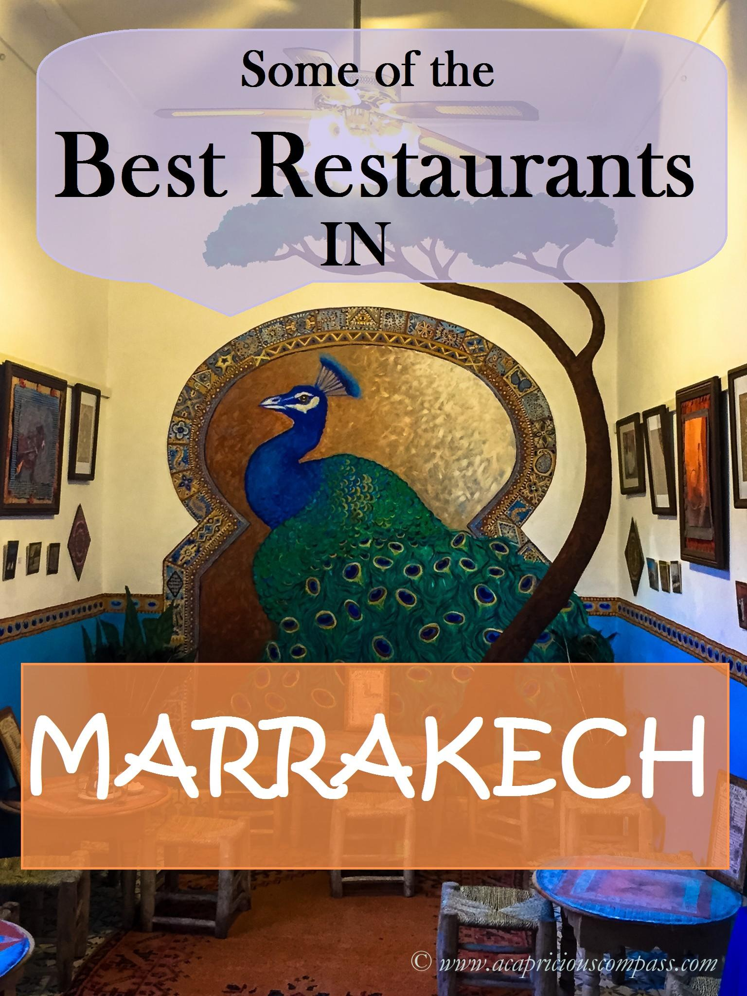 restaurants in Marrakech