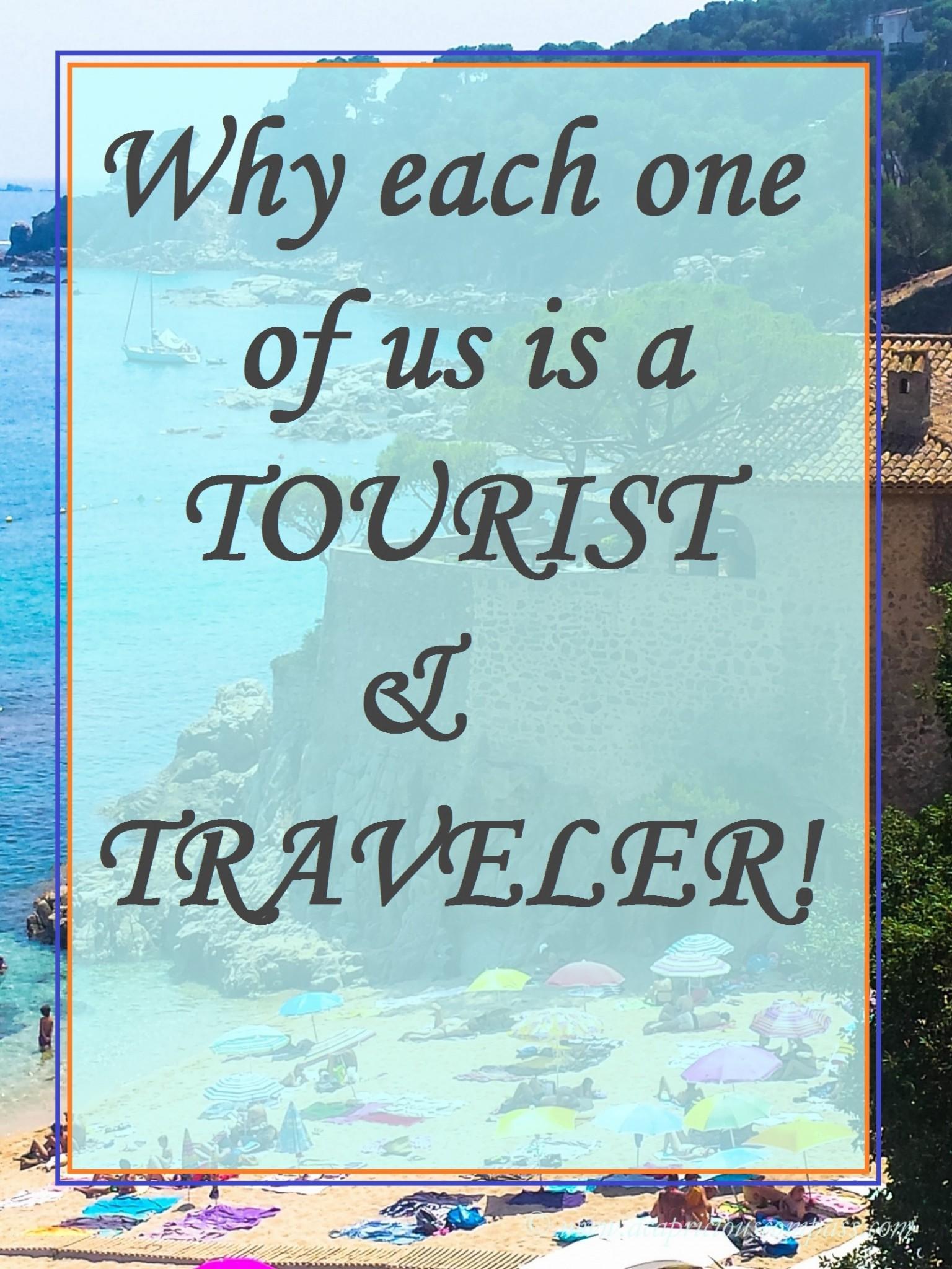 tourist and traveler