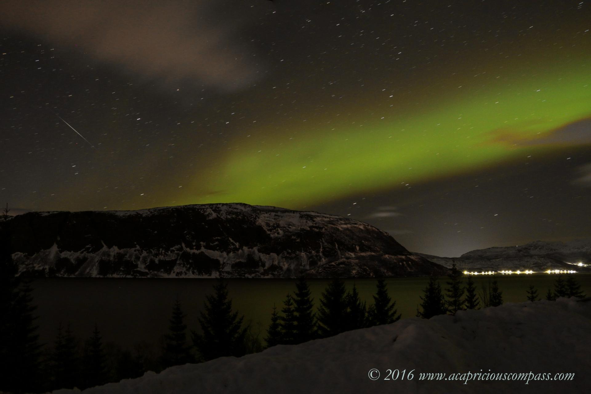 northern lights in norway