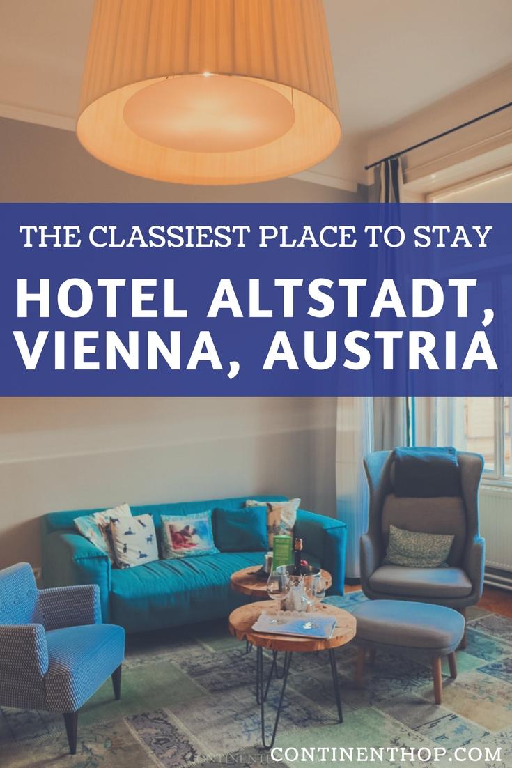 Boutique hotel wien Altstadt