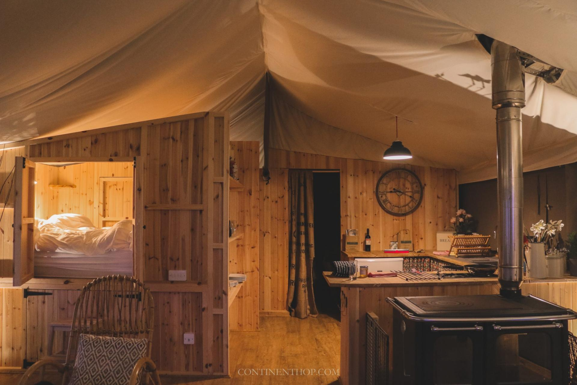 catchpenny glamping tents in fife scotland