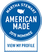 Becca & Mars Martha Stewart American Made Nominee