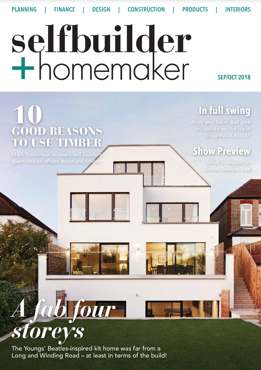 Self Builder & Homemaker Article - Grand Designs Live Roomsets Review