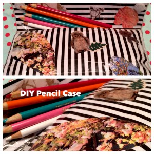 DIY pencil case tutorial for back-to-school easy affordable kids crafts
