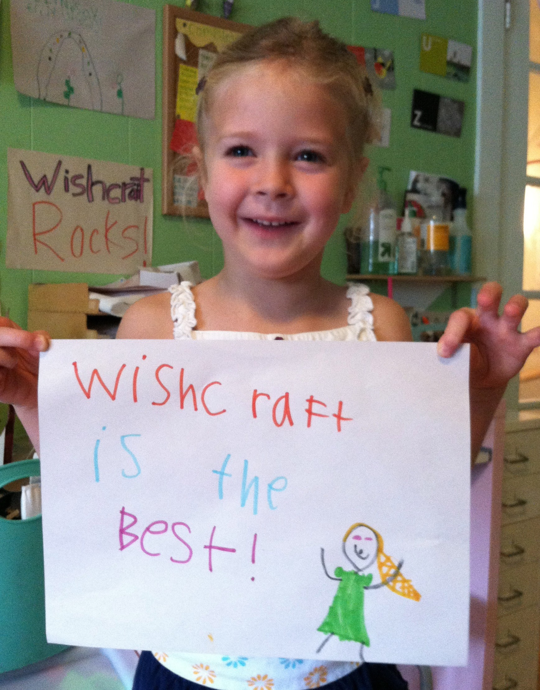 Wishcraft is the best love note from a camper