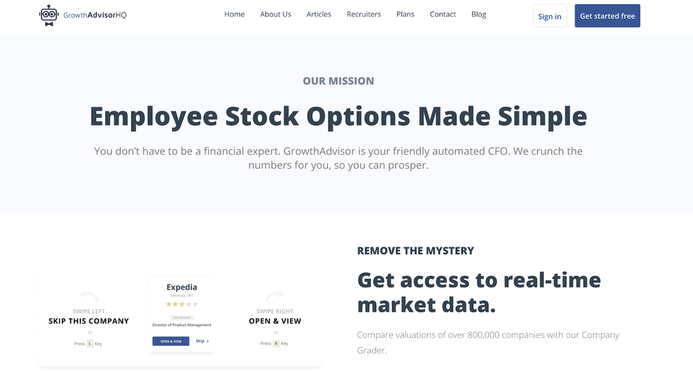 Employee stock options made simple