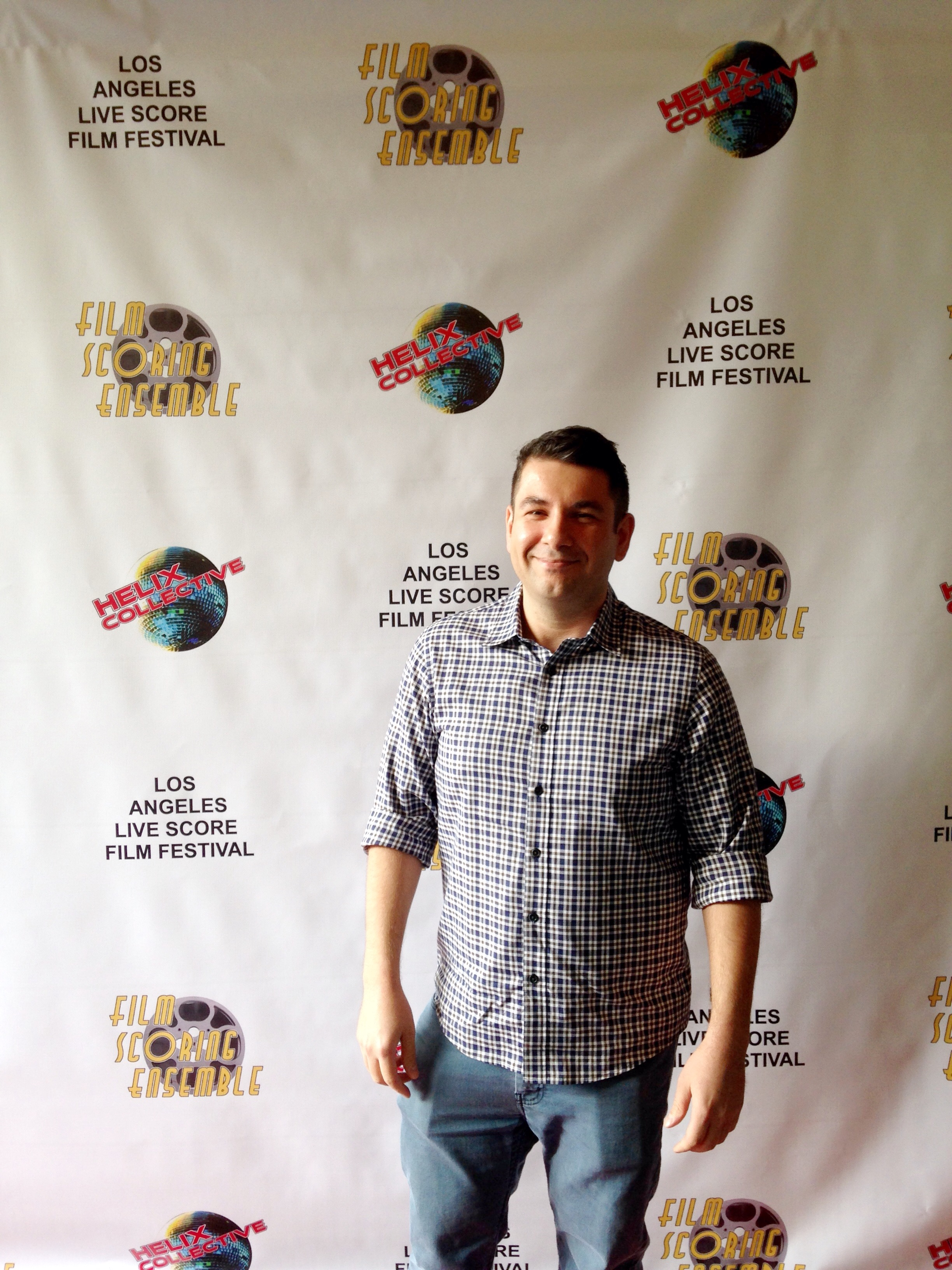 A little picture on the Red carpet before the 8pm premiere at ArtShare LA on April 30, 2016.