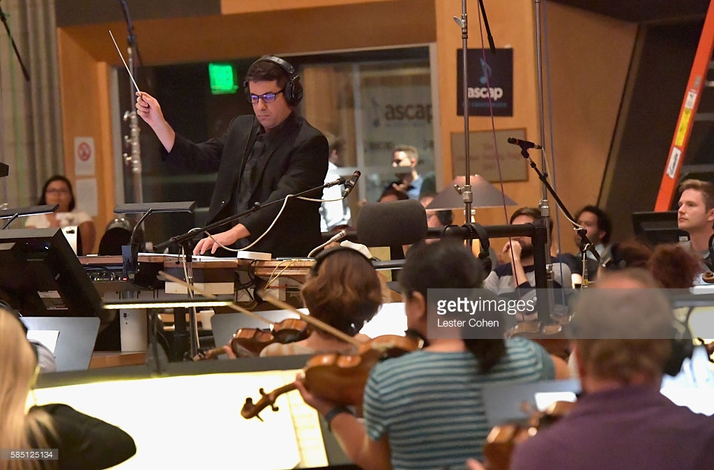 performs during the ASCAP 2016 Film Scoring Workshop on the Newman Scoring Stage at Fox Studio Lot on August 1, 2016 in Century City, California.