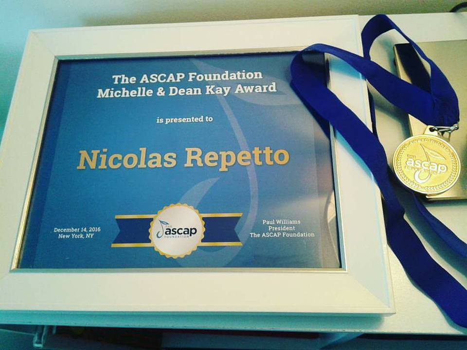 ASCAP Foundation Michelle and Dean Kay Award