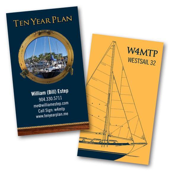 Ten Year Plan Boat Cards