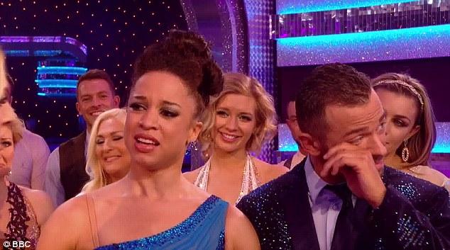 Artem dried his eyes as Natalie said she had found something divine through dance